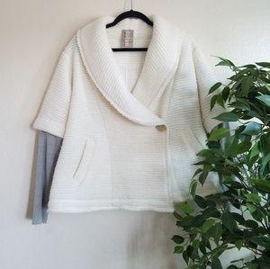 Anthropologie Wool Shirt Cardigan